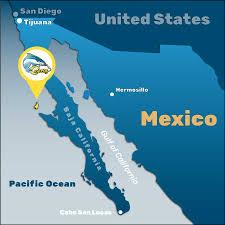 Ensenada Mexico Map by Cedros Island Fishingtours Cedros Island Kayak Fishing Tours