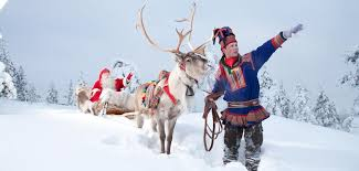 lapland santa claus reindeer