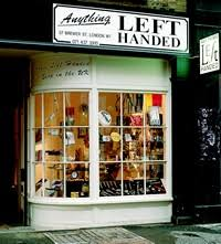 Sho Ayting anything left handed shop