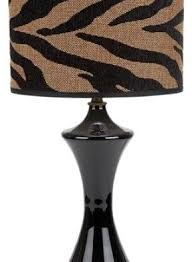 Zebra Print Table Lamp Top Led Bulbs For Recessed Lights Ideas Home Lighting Fixtures