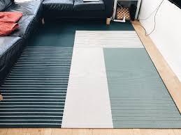 Ikea Underlay For Laminate Flooring Roskilde Rug Ikea Blue And Beige In Newcastle Tyne And Wear