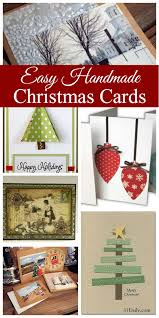 creating treasures easy handmade christmas cards 31 daily