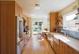 galley style kitchen ideas gallery style kitchen design kitchen and decor