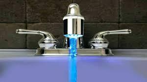 kitchen faucet spray hose quick connect sprayer diverter valve led