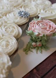 bridal shower cupcake wedding dress