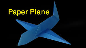 how to make a super paper airplane for kids origami paper