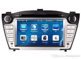 hyundai tucson navigation in dash gps navigation car dvd player for hyundai tucson ix35 2009