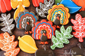 easy decorated turkey cookies for thanksgiving lilaloa easy