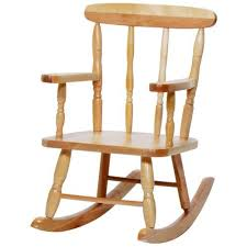 Toddler Wooden Chair Interesting Toddler Rocking Chairs With Acorn Childs Rocking Chair