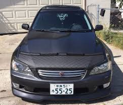 toyota altezza modified lexus is300 is200 is altezza 99 2000 01 02 03 04 05 bonnet hood