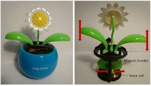 flower pot solar light solar powered flapping toy design for diy manufacturing