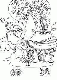 beautiful spring day coloring page for kids seasons coloring
