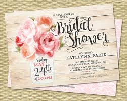 rustic bridal shower invitations bridal shower invitation jar floral pink peonies rustic