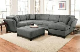 ottoman white leather sectional with ottoman oversized sectional