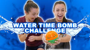 Water Bomb Challenge Water Time Bomb Challenge Merrell