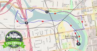 Map Columbus Ohio by Course Map U0026 Directions Challenge Columbus 5k Run And Walk