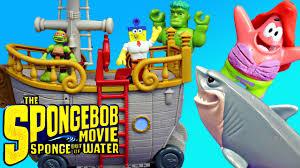 spongebob square pants sponge out of water saves play doh mermaid