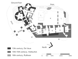 file dirleton plan ground floor png wikimedia commons