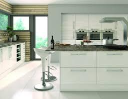 kitchen high gloss kitchen cabinets fortitude cream