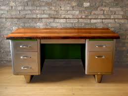 metal and wood desk u2013 cocinacentral co