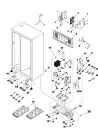 start run capacitor wiring diagram samsung rs2555bb wiring