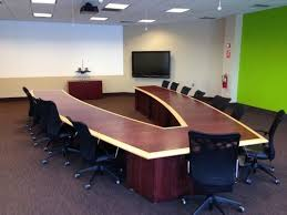 U Shaped Conference Table Dimensions Furniture Wooden U Shaped Conference Table Rs 3000