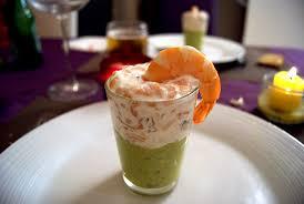 blogs cuisine facile recette facile de verrines avocat saumon crevettes