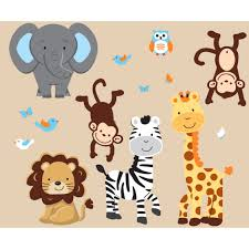 jungle wall stickers for nursery ihsanudin com jungle wall stickers for nursery
