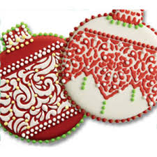 lace band ornament cookie cutter stencil set