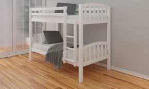 White Bunk Beds Company  Cheap White Bunk Beds For Children In The UK - White bunk bed with mattress