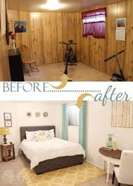 Best Color For Basement Walls by Painted Wood Panelling Before And After Office Pinterest