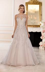 silver wedding dresses wedding dresses a line halter wedding dress with silver beading
