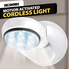 Motion Activated Outdoor Light Motion Activated Cordless Light Outdoor Light Asseenontv Store