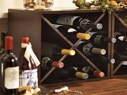 ideas wall mounted wine racks pottery barn wine glass rack