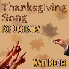 adam sandler the thanksgiving song for orchestra walt ribeiro