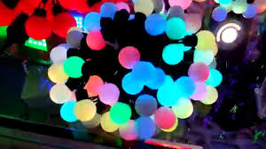 led lights colour changing rgb string lights by