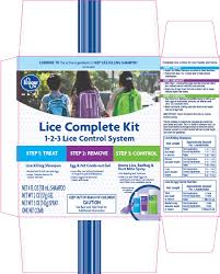 Will Lice Treatment Ruin Hair Color Kroger Co Lice Complete Kit Drug Facts