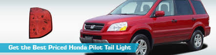 honda pilot tail light honda pilot tail light taillights action crash tyc 2006 2007