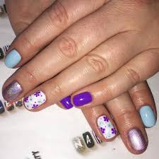 tulip nail design gallery nail art designs