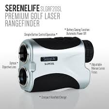 amazon com serenelife premium golf laser rangefinder with
