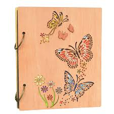 photo album book 4x6 giftgarden vintage butterfly 4x6 photo album book 120 pockets