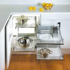 Kitchen Cabinet Parts Kessebohmer Magic Corner Ii Frame Lh Silver 548 10 241