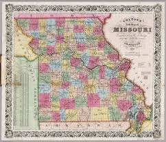 Map Missouri Missouri David Rumsey Historical Map Collection
