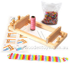 bead bracelet maker images Wooden bead loom bracelet maker craft toy at my wooden toys jpg