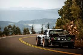 hoonigan drift cars watch ken block attack pikes peak in his 1 400 hp all wheel drive