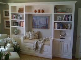 Bookshelf Seat Window Seat Bookshelf Griffin Custom Cabinets 22 Office Built In