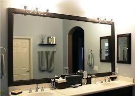 ideas for bathroom mirrors bathroom mirror molding bathroom mirror framing ideas juracka info