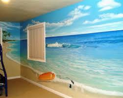 100 bathroom mural ideas landscapes wall shower murals