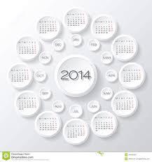 calendar 2014 vector stock photo image 34849340