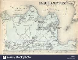 Long Island New York Map by Map Of East Hampton Stock Photos U0026 Map Of East Hampton Stock